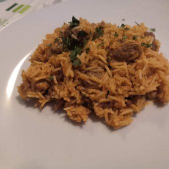 Szerb rizses hús